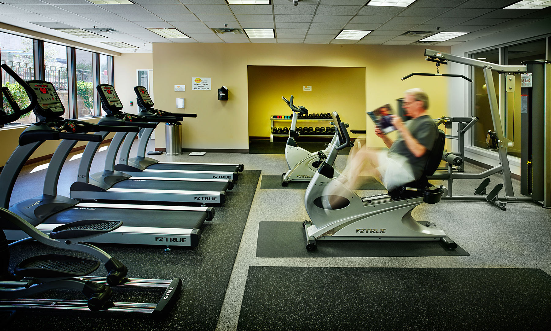 exercise center at the Metropolitan | exercise  bikes