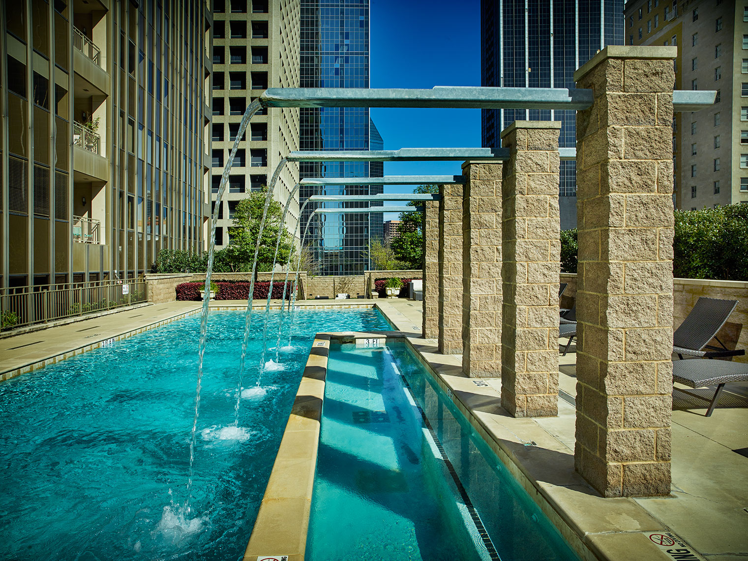 swimming pools and recreation at urban living centers
