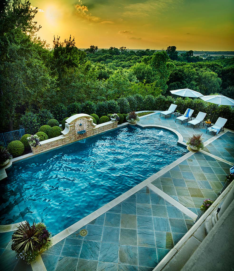 pools and outdoor furniture |  architectural design