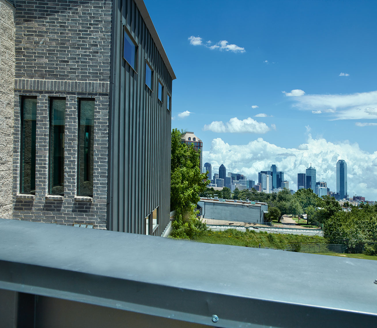 dallas skyline | patios | condos | design district