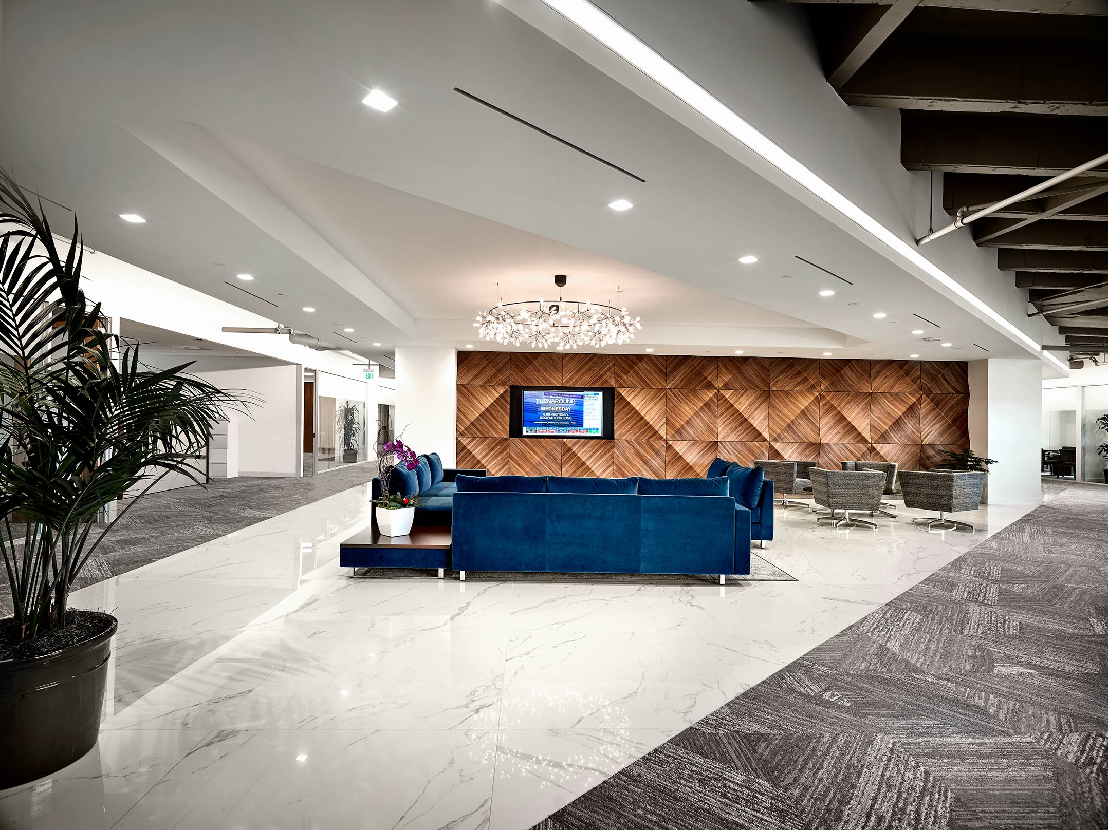 Darling Ingredients executive office floor |  high end design