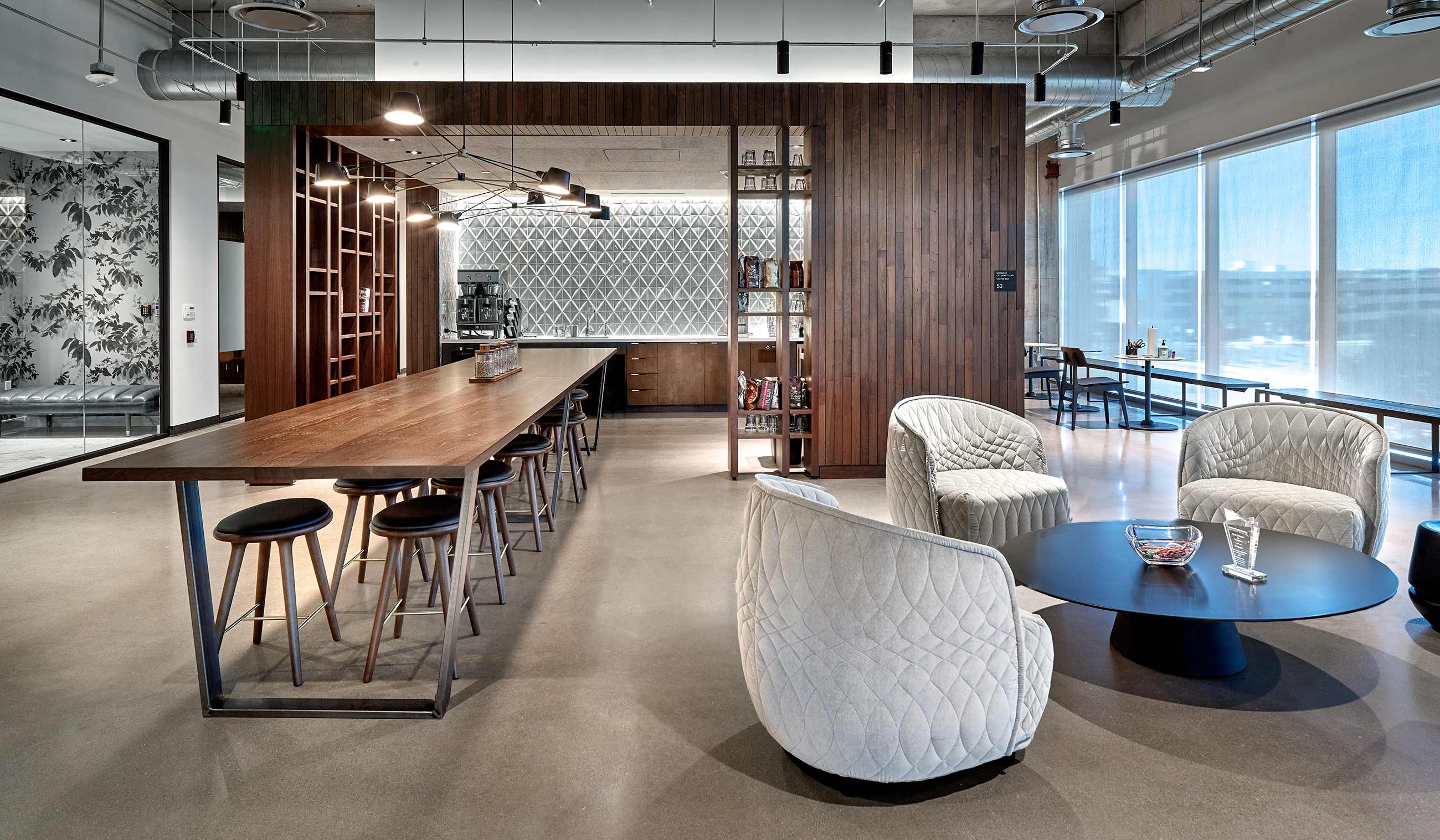 furnishings for corporate interiors |  Starbucks corporate branding