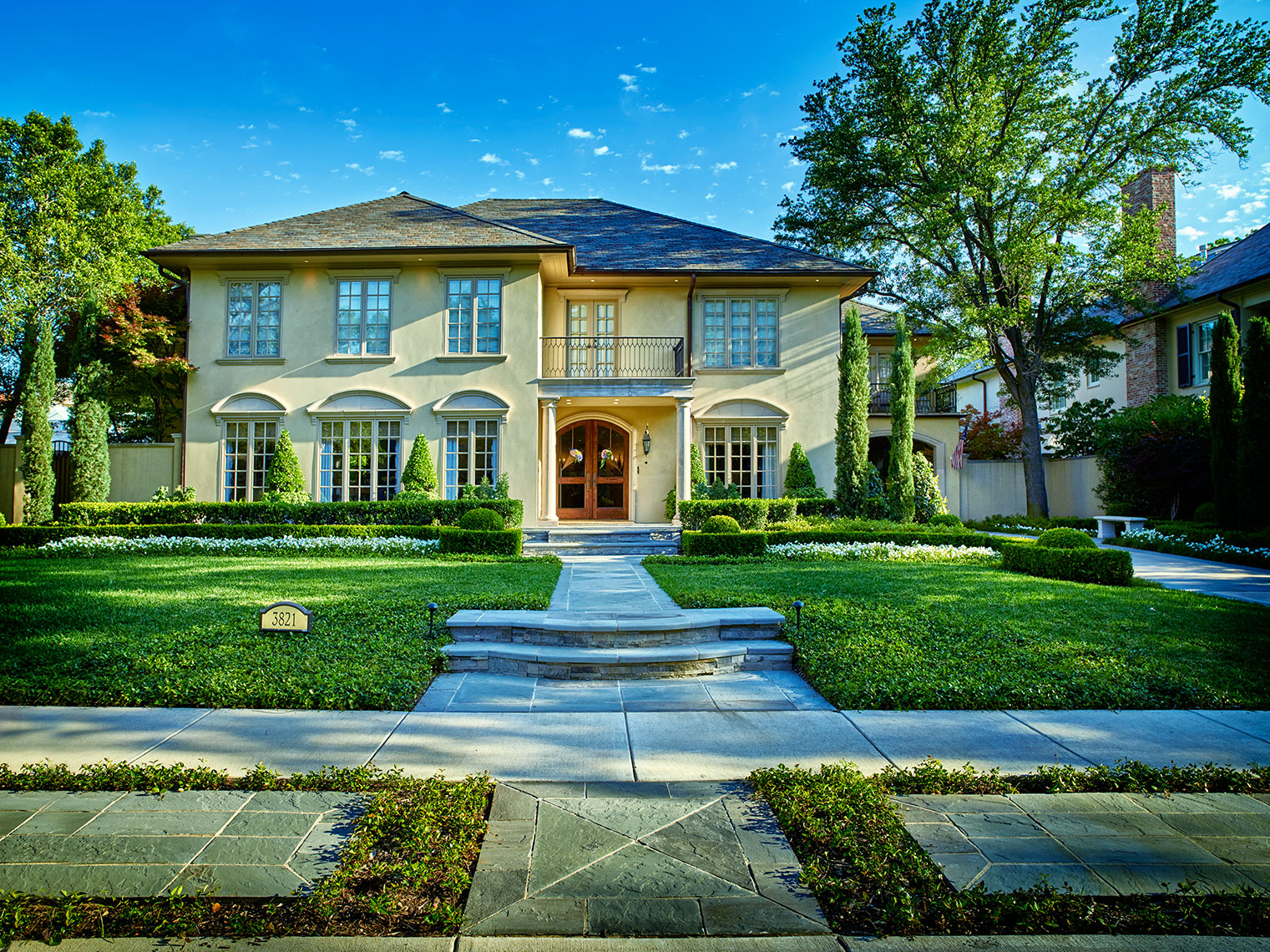 Dallas architecutre and fine homes in Park Cities