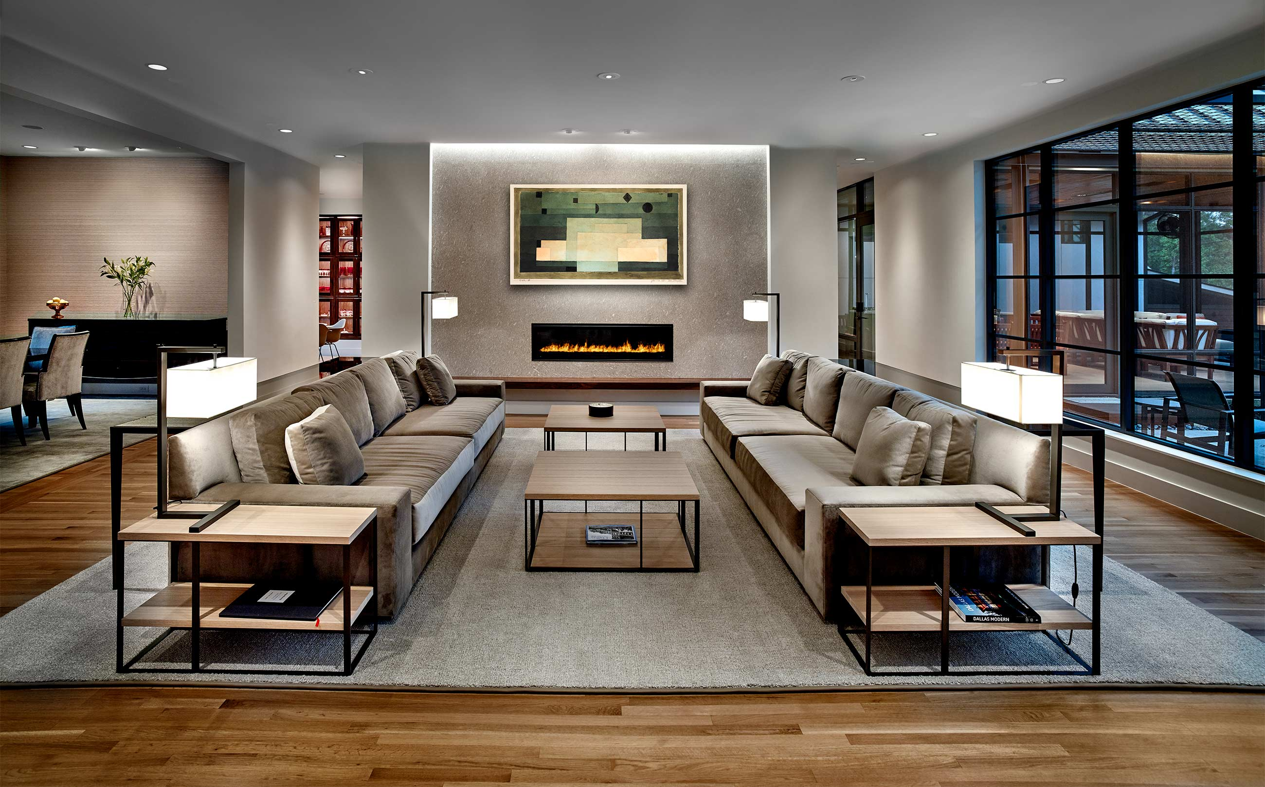 interiors and interior design |  contemporary furnishings |  contemporary living