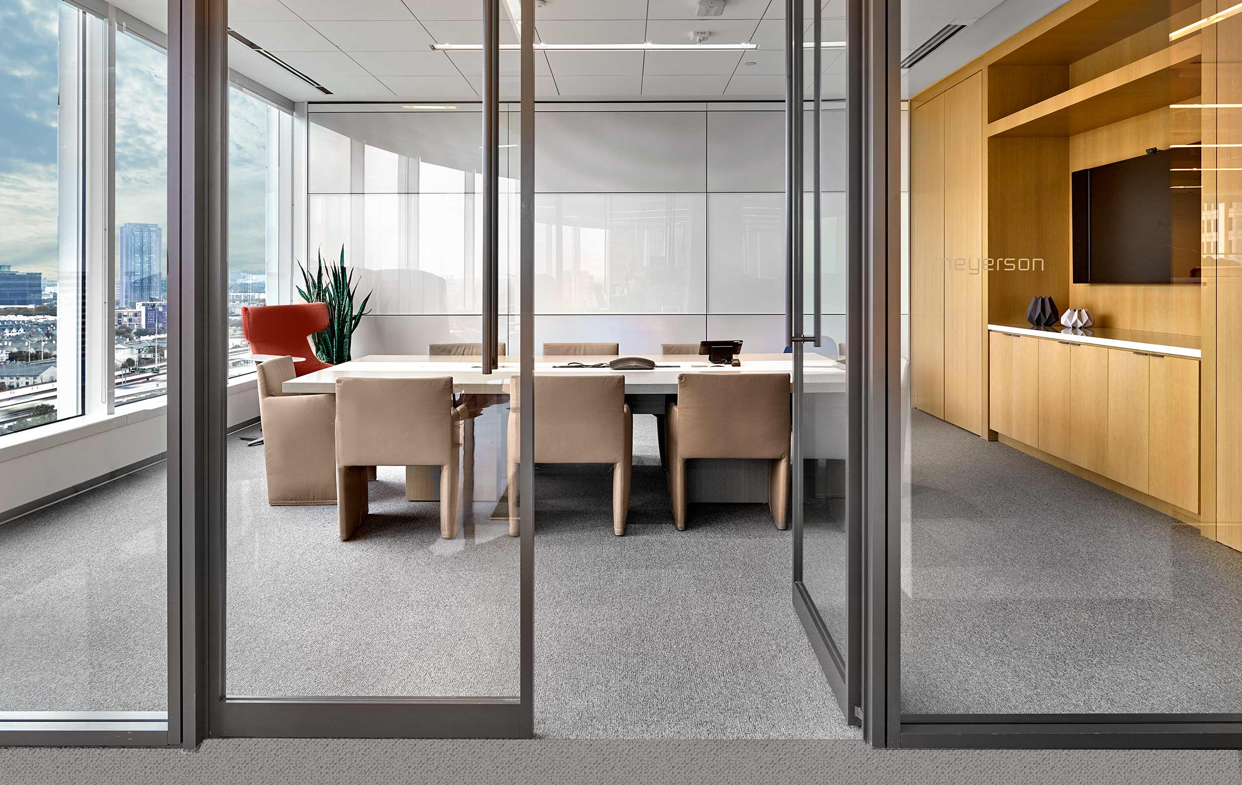 boardrooms and furnishings |  Teknion showroom Dallas |