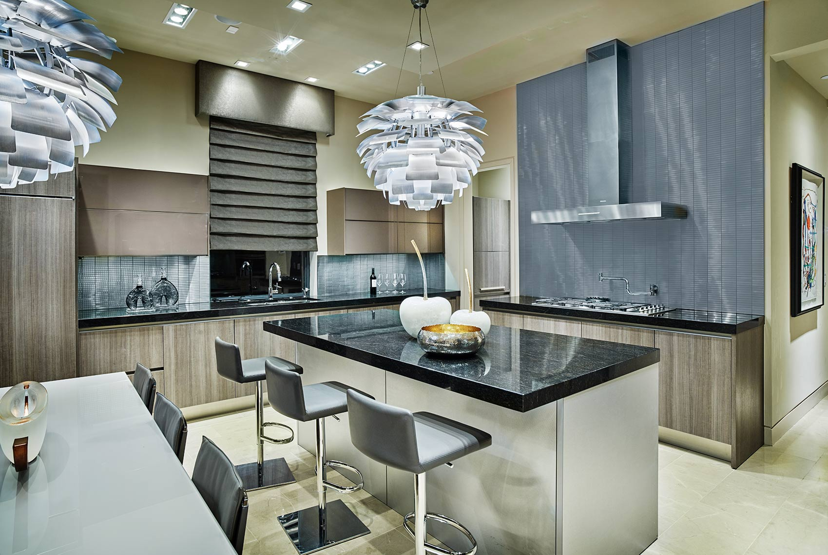 modern kitchens and lighting |  contemporary homes in Highland Park Tx.